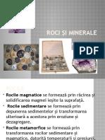 roci, minerale