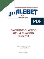 ENFOQUE CLÁSICO DE LA FUNCIÓN PÚBLICA.docx