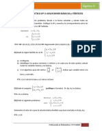 TRABAJO PRACTICO Nº 3 Soluciones básicas y vértices