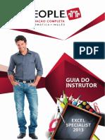 Guia do Instrutor - Excel Specialist 2013