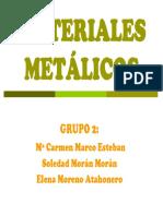 MATERIALESMETÁLICOS(mezcla)