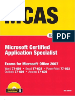 MCAS Office 2007 Exam Prep-Exams for Microsoft Office 2010