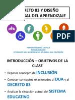 DECRETO 83 Y DISEÑO UNIVERSAL DEL APRENDIZAJE.pdf