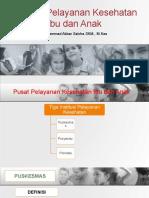 5.Institusi Pelayanan Kesehatan Ibu dan Anak