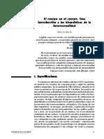 Cabral - El cuerpo en el cuerpo. Una introducción a las biopolíticas de la intersexualidad.pdf