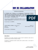 Contrat de Collaboration FADEC - MWANA AFRICA