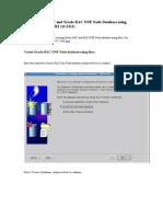 Create Oracle RAC and Oracle RAC ONE Node Database Using Dbca