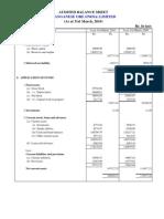 Manganese Order Financial Results