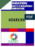STATUTS de la FADEC Gabon revisé en AGEX NOV 2018.pdf