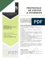 Protocolo de Visitas a Viviendas