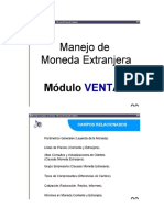Manejo de la Moneda Extranjera-Ventas