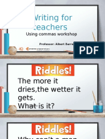 Comma rules (2)