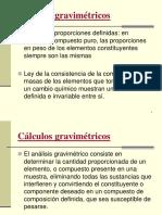 Cálculos gravimétricos