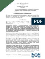 ACUERDO PCSJA20-11549 del 07-05-2020