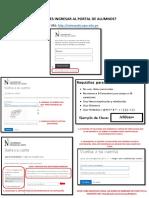 Manual Cambio de Contraseña UPN - Alumno 2019