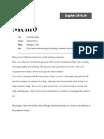 king essay - revised