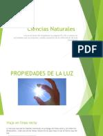 Ciencias_ Propiedades de la luz ppt
