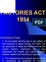 1.Factory Act 1934