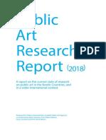 Public Art Research Report 2018
