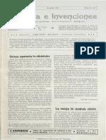 Industria e invenciones. 30-8-1913, n.º 9