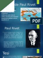Teoría de Paul Rivet