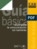 Guía para una comunicación sin barreras (2009)