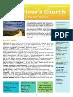 st saviours newsletter - 10 may 2020 easter v