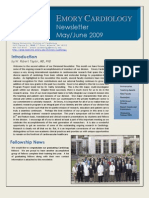 Emory Cardiology Newsletter June 2009