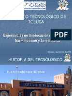 1.2 Experiencias en la educacion