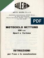 Gilera 250 Nettuno Sport-Turismo - Manual de Uso