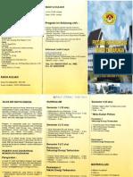 Brosur S2 Energi Terbarukan Unsada, INDONESIA