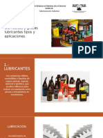Aceites y grasas lubricantes mantenimiento