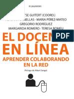 El docente en línea. Aprender colaborando en la red.pdf