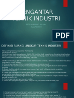 Soal dan jawaban Pengantar Teknik Industri