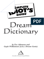 The Complete Idiot's Guide Dream Dictionary.epub