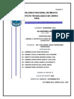UNIDAD 3 ESPECIFICACIONES DE CONSTRUCCIÓN Y OPERACIÓN.
