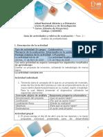 Guia de actividades y Rúbrica de evaluación - fase 2 - Análisis de prefactibilidad.pdf
