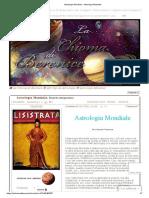 Astrologia Mondiale - Astrologia Mondiale