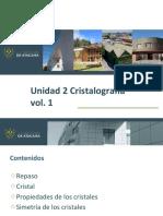 3 Clase Mineralogia 2unidad Cristalografia
