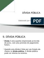 Financas aula 9 - Divida Publica