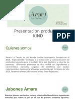 Catalogo de Jabones Amaru KIND
