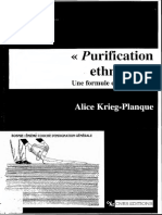 Purification Éthnique