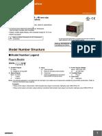 e5cs omron temperature controller