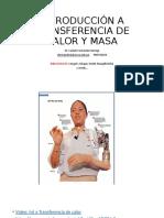 1 1 INTRODUCCIÓN A TRANSFERENCIA DE CALOR Y MASA CFB