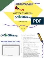 Editores de texto e slides