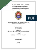 RECONOCIMIENTO DE LAS PROPIEDADES DE LOS MINERALES NO METÁLICOS.docx
