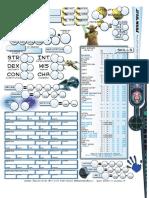 Star Wars 3e RPG - d20 - Super Custom Character Sheet