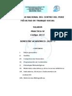 SILABO PRACTICA IV 2016 i