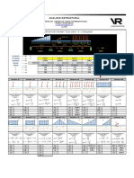 Metodo de Cross, Viga Hiperestatica 3 Tramos.plantilla Excel.ejemplo01