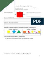 5° año   -  Matemática  -  Guía   -  Perímetro de figuras planas
